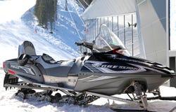 Snowmobile in Low Tatras, Slovakia Royalty Free Stock Photo