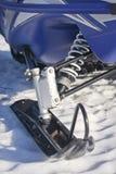 Snowmobile Ski on Snow Stock Photos