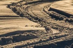Snow Shredding Stock Photo