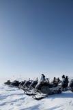 Snowmobile Trip Stock Image