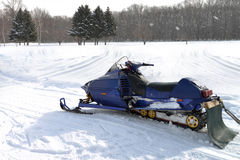 Snowmobile Royalty Free Stock Photos