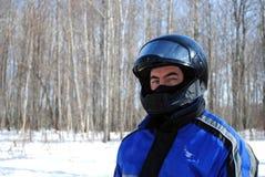 Snowmobiler Royalty-vrije Stock Foto's