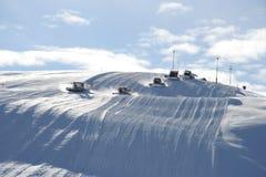Snowmobiles Royalty Free Stock Image