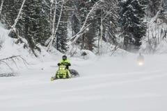 snowmobiles Fotografia Stock
