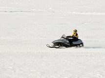 Snowmobiling Royalty Free Stock Images