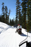 Snowmobiling Royalty Free Stock Image