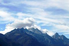 Snowmountains Arkivfoton