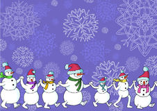 Snowpeople Stock Photos