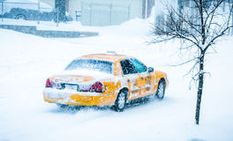 Snowpiercer Στοκ φωτογραφίες με δικαίωμα ελεύθερης χρήσης