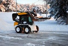 Snowplog Fotografering för Bildbyråer