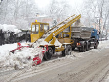 Snowplough Stock Photos
