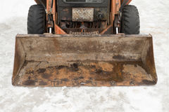 Snowplough Royalty Free Stock Photography