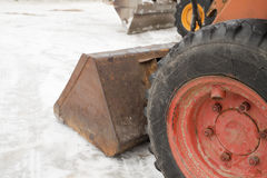 Snowplough Royalty Free Stock Photo