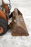 Snowplough Stock Image