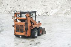 Snowplough Stock Photography