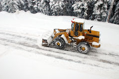 Snowplow Stock Photography