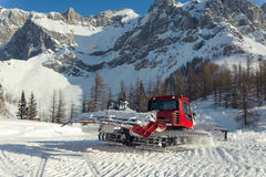 Snowplow. Make a way in winter Stock Images