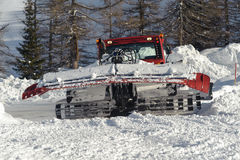 Snowplow Royalty Free Stock Photos