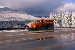 SNOWPLOW Zdjęcia Stock