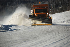 Snowplow Fotografia de Stock Royalty Free