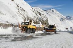 snowplow Imagen de archivo