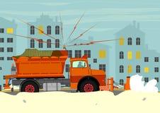 snowplow ilustração do vetor