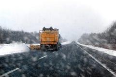snowplow Foto de archivo libre de regalías