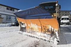 Snowplow Stock Photo