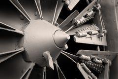 Snowplow rotatorio Imagen de archivo libre de regalías