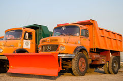 Snowplow Trucks Stock Images