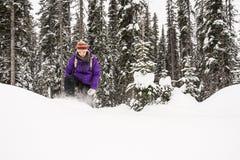 snowplowing的 免版税库存照片