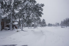 Snowpocalypse 8 Fotografia Stock