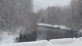 Snowqualmie-Durchlauf, Washington 4 Stockbild