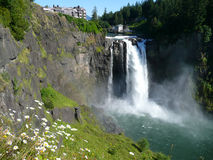 Snowqualmie Falls Royalty Free Stock Image