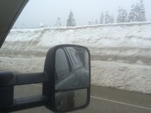 Snowqualmie Pass. Royalty Free Stock Photo