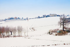 Snowscape Royalty Free Stock Photography