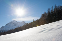 Snowscape - Swiss Alps Stock Images