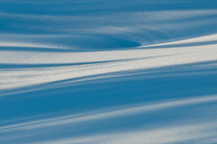 Snowshapes Stock Photography
