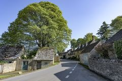 Snowshill Village; Gloucestershire; England; United Kingdom royalty free stock photo