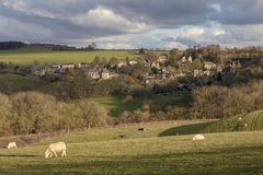 Snowshill, Gloucestershire Royalty Free Stock Images