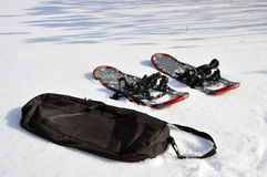 Snowshoening Royalty Free Stock Photos