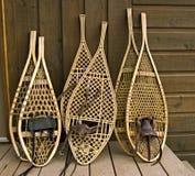 сортированные snowshoes Стоковые Изображения RF