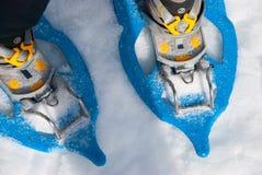 snowshoes Стоковое Изображение