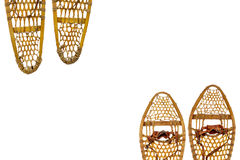 Snowshoes abstract Royalty Free Stock Photography