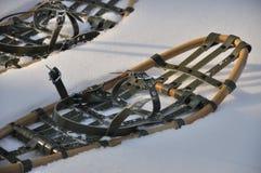 Snowshoes tradizionali Fotografia Stock Libera da Diritti