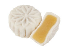 Snowskin Mooncake Stock Photo