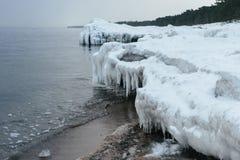 Snowsnow在冬天 免版税库存照片