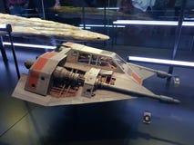 Snowspeeder de Star Wars image stock