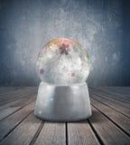 Snowsphere Arkivfoton