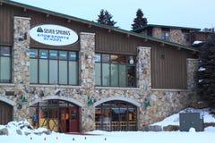 Snowsports School royalty free stock photography